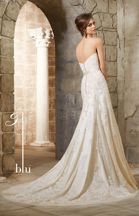 5361 (back) gown from the 2015 Morilee Blu collection, as seen on dressfinder.ca