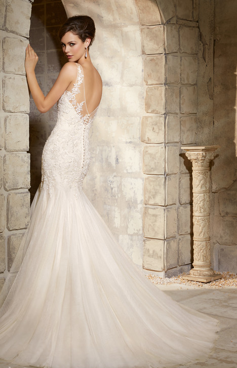 5365 (back) gown from the 2015 Morilee Blu collection, as seen on dressfinder.ca
