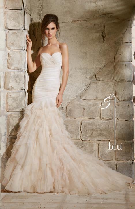 Wedding dress by Morilee Blu