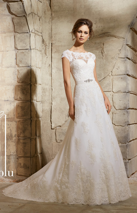 5370 gown from the 2015 Morilee Blu collection, as seen on dressfinder.ca
