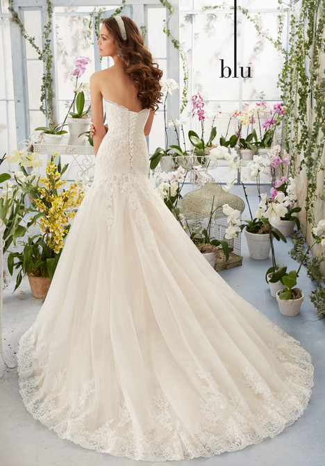 5402 (back) gown from the 2016 Morilee Blu collection, as seen on dressfinder.ca