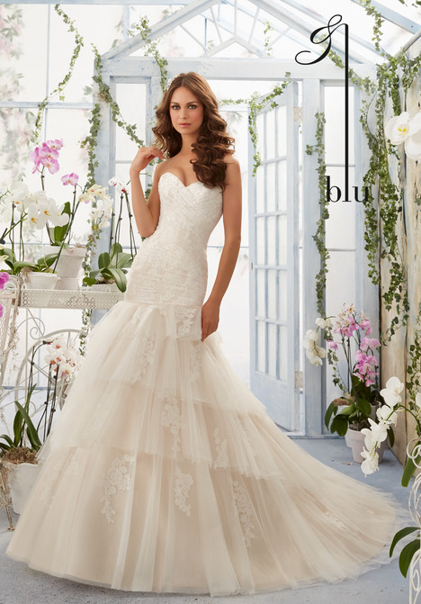 5405  gown from the 2016 Morilee Blu collection, as seen on dressfinder.ca