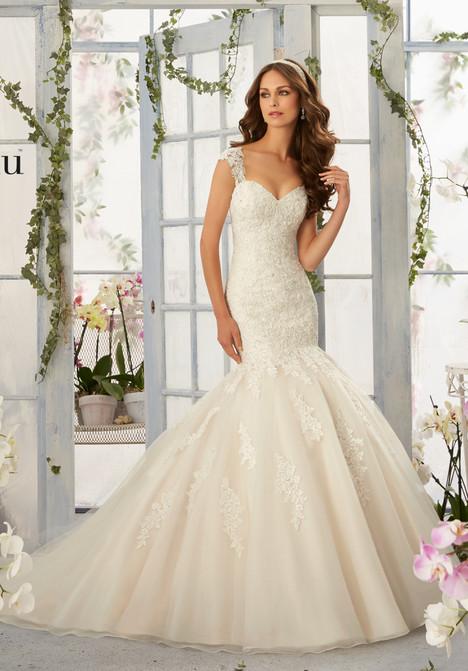 5407 Wedding                                          dress by Morilee Blu