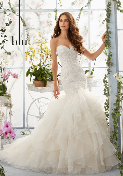 Style 5409 gown from the 2016 Morilee Blu collection, as seen on dressfinder.ca