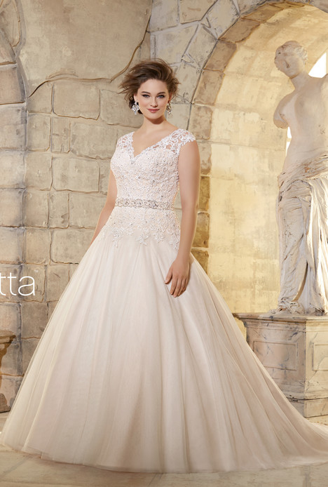 3181 Wedding                                          dress by Mori Lee: Julietta