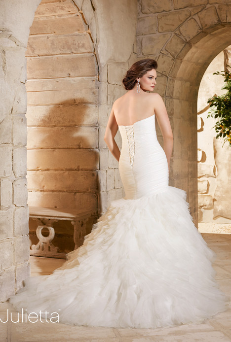 Style 3184 (back) gown from the 2015 Morilee Julietta collection, as seen on dressfinder.ca
