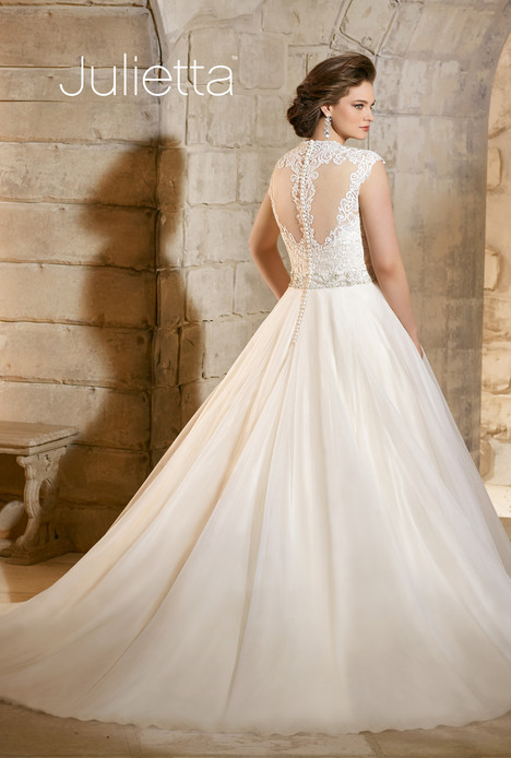 3185 (back) gown from the 2015 Morilee Julietta collection, as seen on dressfinder.ca
