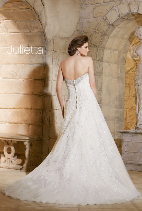 3186 (back) gown from the 2015 Morilee Julietta collection, as seen on dressfinder.ca