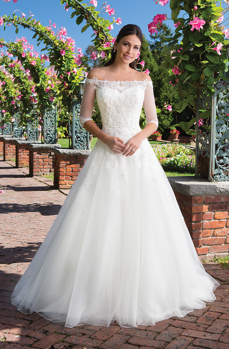 3928 (2) Wedding                                          dress by Sincerity