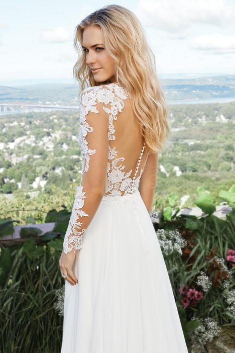 6422 (back) Wedding dress by Lillian West