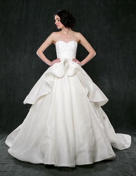 Dahlia Wedding                                          dress by Sareh Nouri
