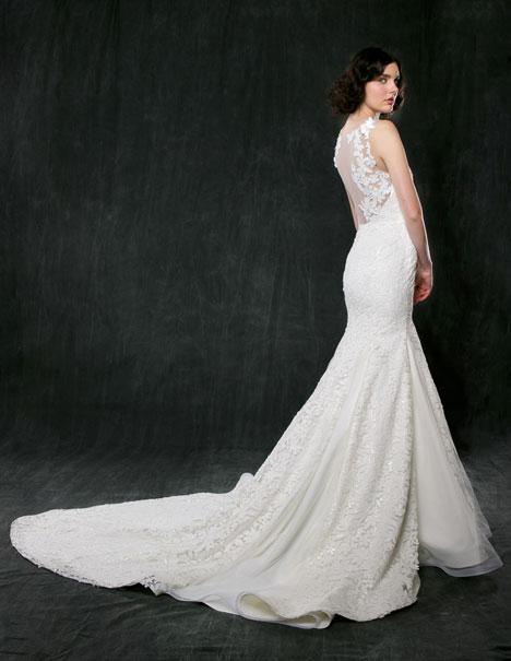 Gardenia (back) Wedding dress by Sareh Nouri