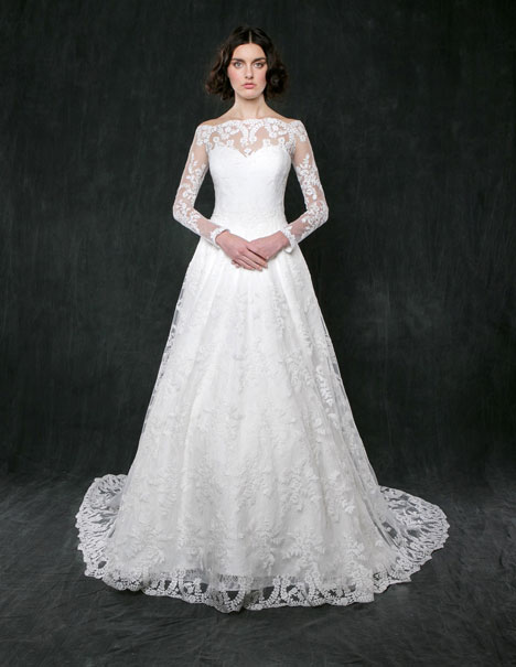 Lily of the Valley Wedding                                          dress by Sareh Nouri