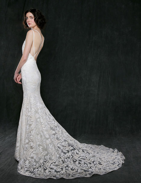 Lotus Wedding                                          dress by Sareh Nouri