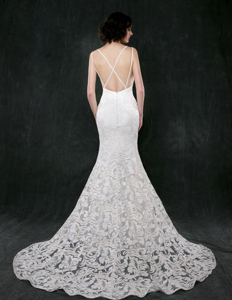 Lotus (back) Wedding                                          dress by Sareh Nouri