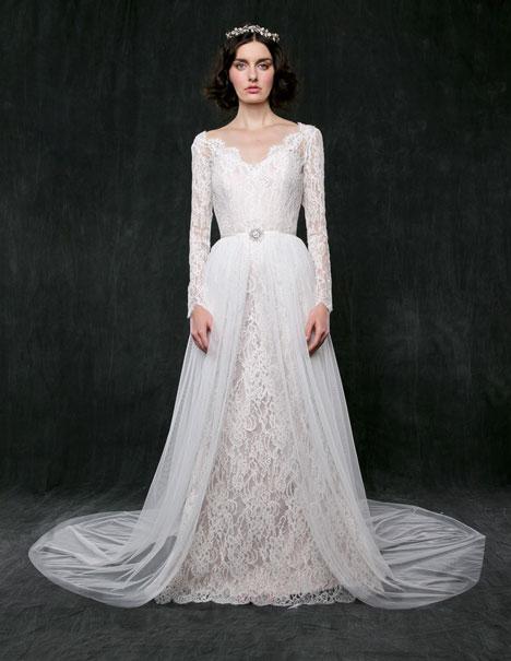 Morning Glory Wedding                                          dress by Sareh Nouri