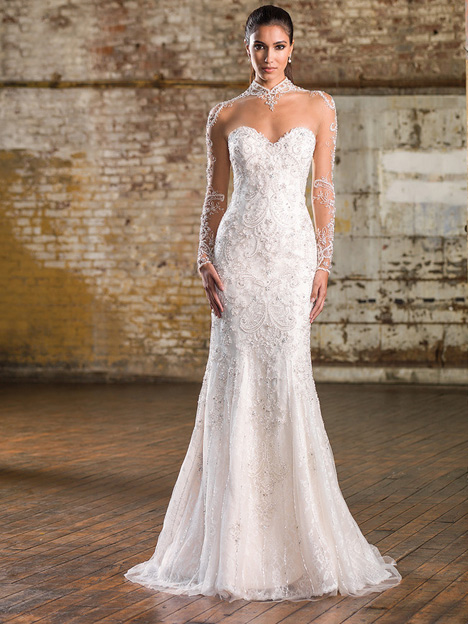 9832 Wedding                                          dress by Justin Alexander Signature
