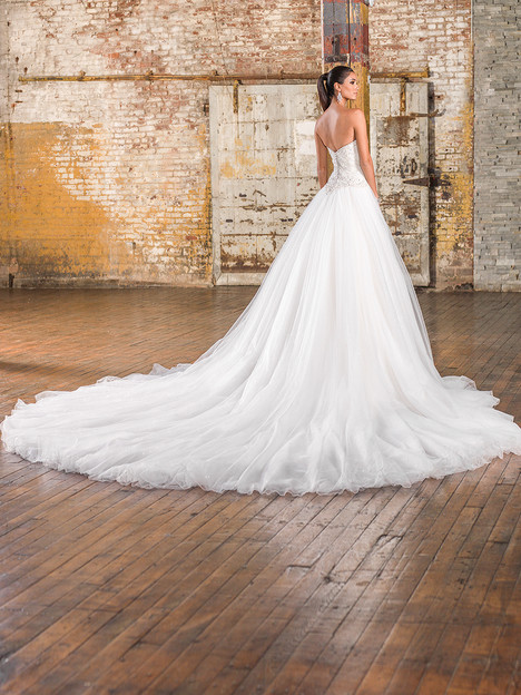 9840 (back) Wedding                                          dress by Justin Alexander Signature