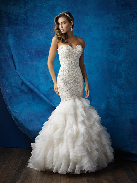 9355 gown from the 2016 Allure Bridals collection, as seen on dressfinder.ca