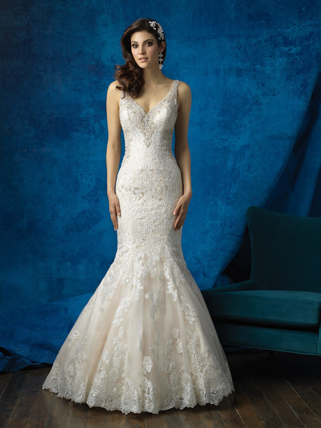 9356 gown from the 2016 Allure Bridals collection, as seen on dressfinder.ca