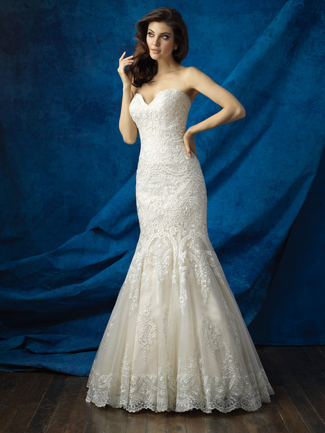 9361 gown from the 2016 Allure Bridals collection, as seen on dressfinder.ca