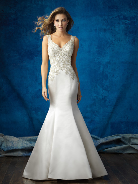 9362 gown from the 2016 Allure Bridals collection, as seen on dressfinder.ca