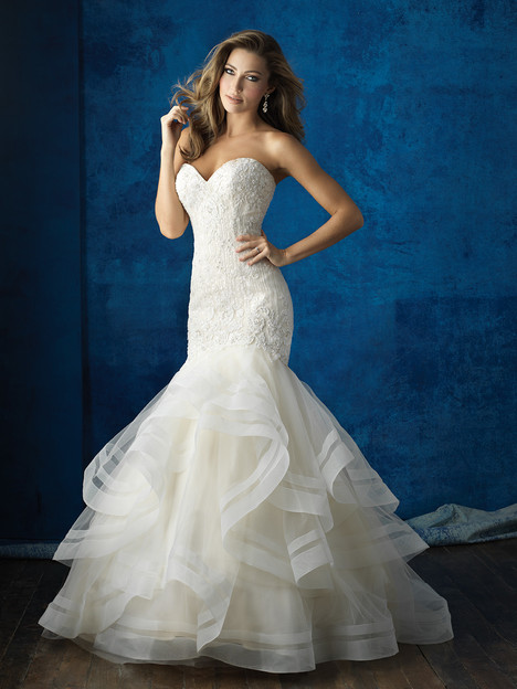 9364 gown from the 2016 Allure Bridals collection, as seen on dressfinder.ca