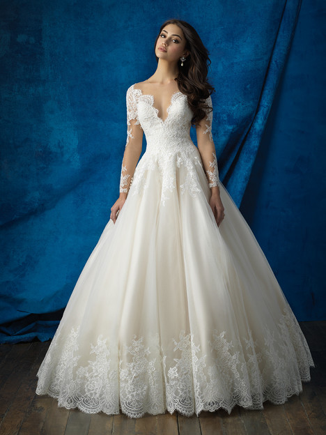 Style 9366 gown from the 2016 Allure Bridals collection, as seen on dressfinder.ca