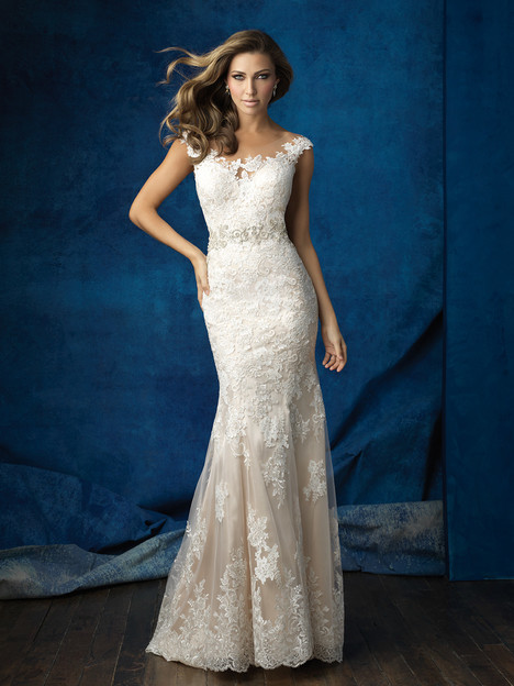 9371 gown from the 2016 Allure Bridals collection, as seen on dressfinder.ca