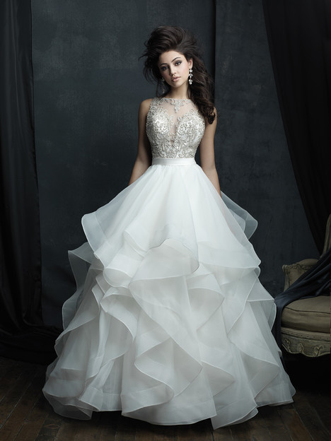 C380 Wedding                                          dress by Allure Couture
