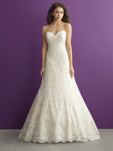 2952 gown from the 2016 Allure Romance collection, as seen on dressfinder.ca