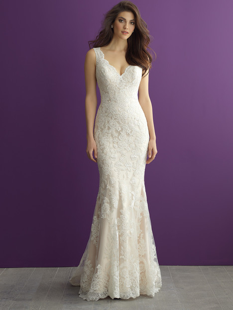 Style 2956 gown from the 2016 Allure Romance collection, as seen on dressfinder.ca