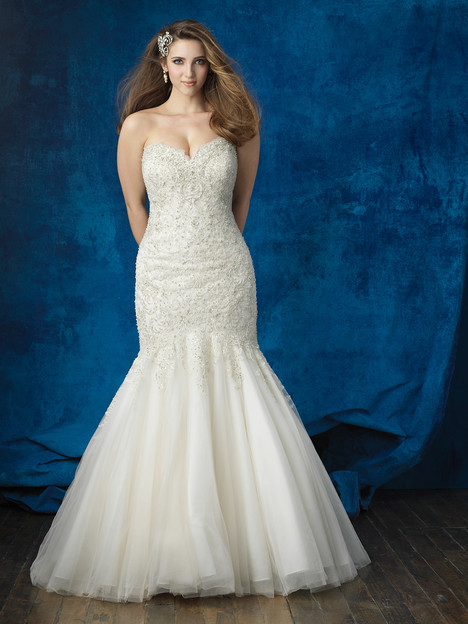 W381 Wedding                                          dress by Allure Women