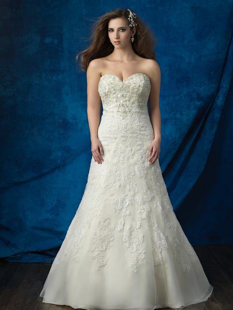 W382 Wedding                                          dress by Allure Bridals : Allure Women