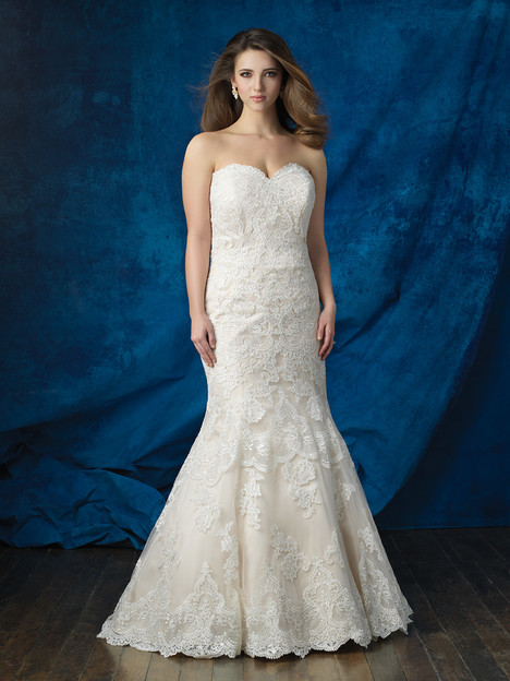 W383 Wedding                                          dress by Allure Bridals : Allure Women