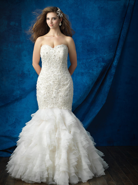 W385 Wedding                                          dress by Allure Bridals : Allure Women