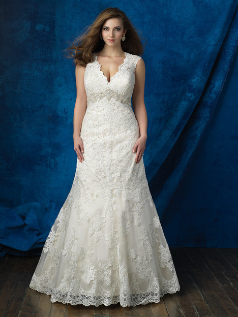 W386 Wedding                                          dress by Allure Women