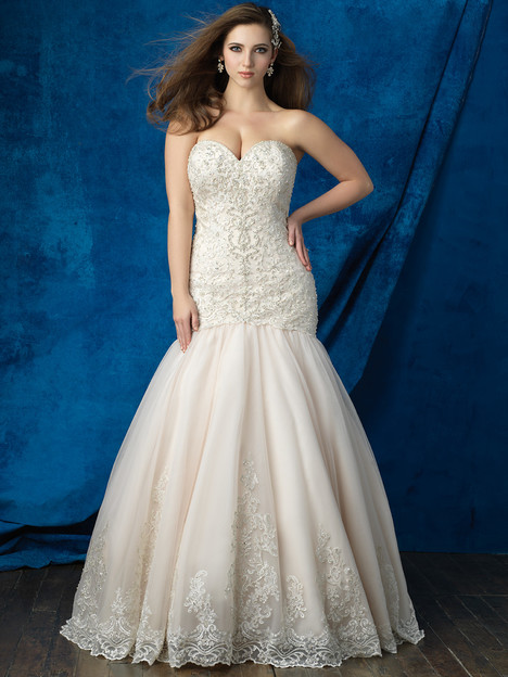 W387 Wedding                                          dress by Allure Bridals : Allure Women