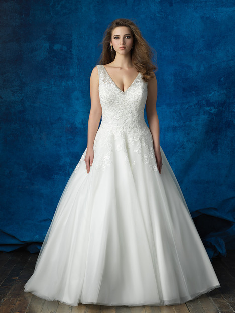 W388 Wedding                                          dress by Allure Bridals : Allure Women