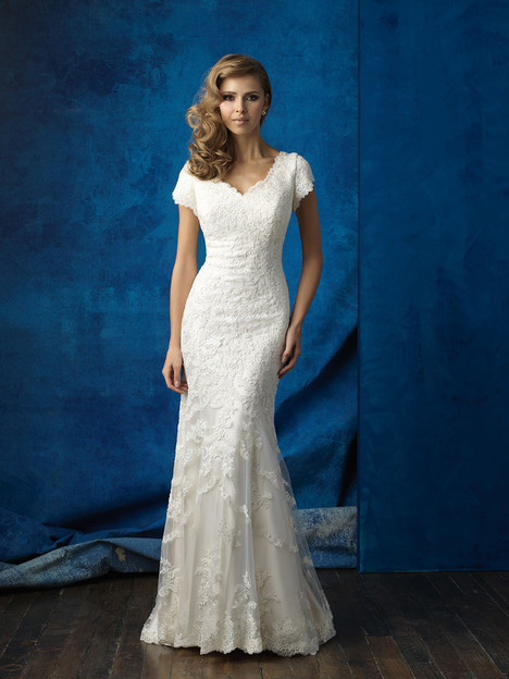 M560 Wedding                                          dress by Allure Bridals: Allure Modest