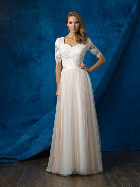 M561 Wedding                                          dress by Allure Bridals: Allure Modest