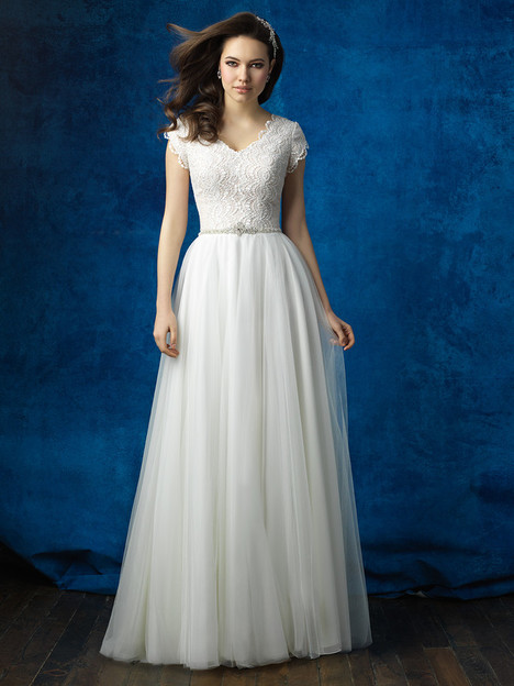 M564 Wedding                                          dress by Allure Bridals: Allure Modest