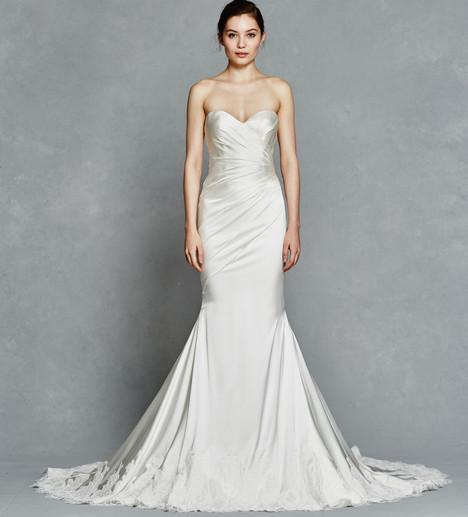 Inez Wedding                                          dress by Kelly Faetanini
