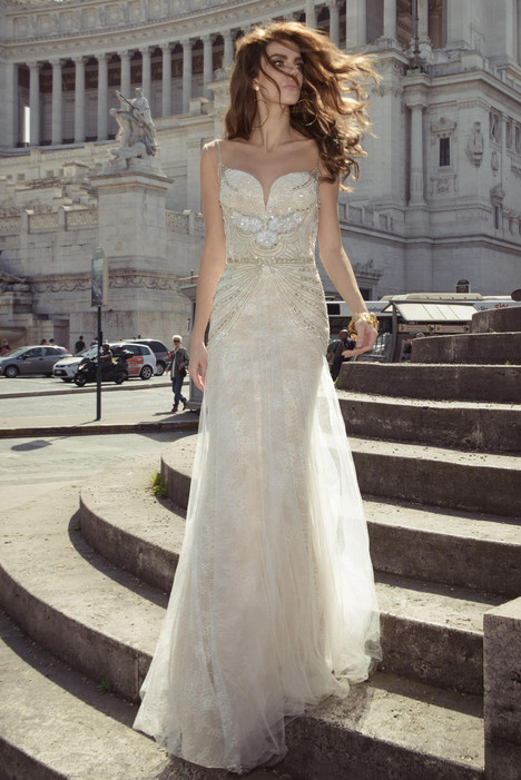 Vita gown from the 2017 Julie Vino Haute Couture collection, as seen on dressfinder.ca