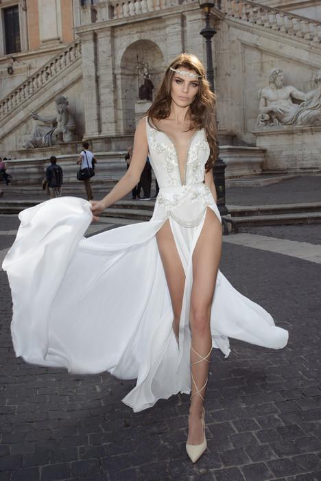 Florentina Wedding                                          dress by Julie Vino