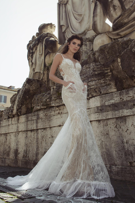 Agusta Wedding                                          dress by Julie Vino