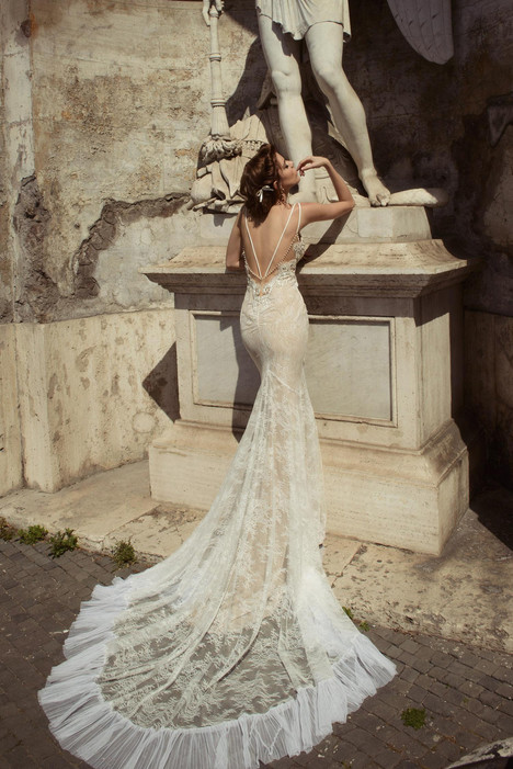 Augusta (back) Wedding                                          dress by Julie Vino