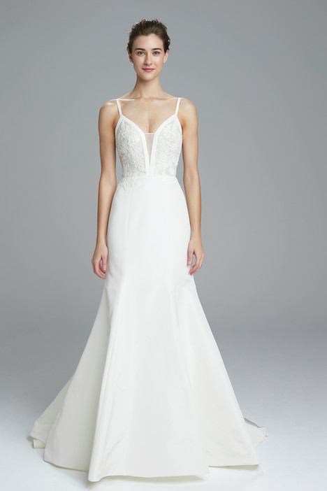 Britt Wedding                                          dress by Amsale