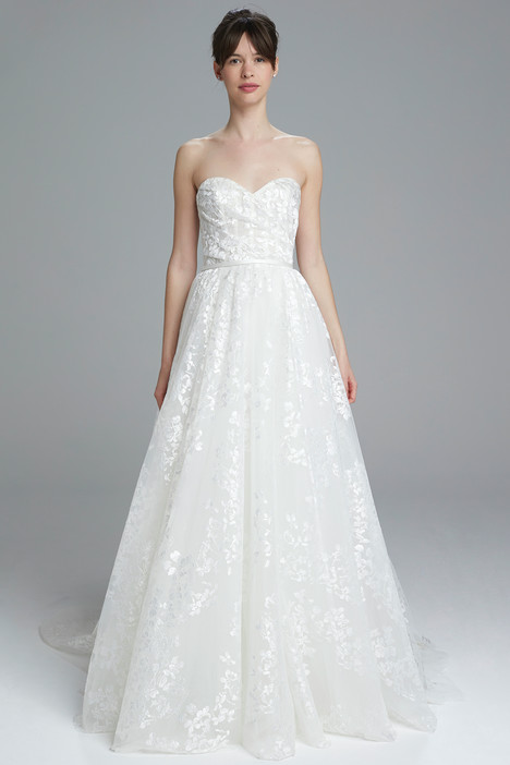 Christie Wedding                                          dress by Amsale