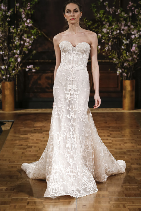 Aubrey Wedding                                          dress by Isabelle Armstrong